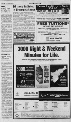 Altoona Mirror, October 05, 2001, Page 12