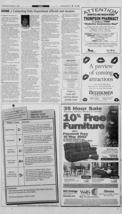 Altoona Mirror, November 01, 2001, Page 5