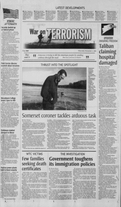 Altoona Mirror, November 01, 2001, Page 19