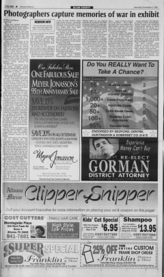 Altoona Mirror, November 03, 2001, Page 20