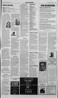 Altoona Mirror, November 03, 2001, Page 22