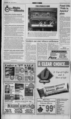 Altoona Mirror, November 03, 2001, Page 24