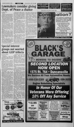 Altoona Mirror, November 11, 2001, Page 18