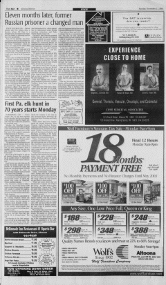 Altoona Mirror, November 11, 2001, Page 24