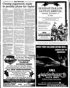 Altoona Mirror, November 11, 2001, Page 19