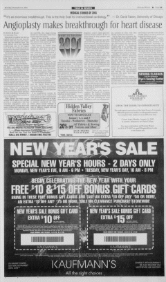 Altoona Mirror, December 31, 2001, p. 5