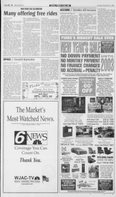 Altoona Mirror, December 31, 2001, p. 8