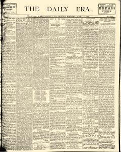 Bradford Daily Era, April 12, 1886, Page 1