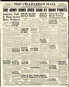 Charleroi Mail, December 06, 1944, Page 1
