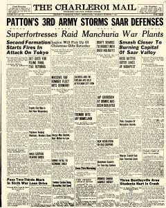 Charleroi Mail, December 07, 1944, Page 1