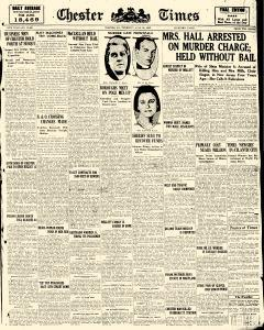 Chester Times, July 29, 1926, Page 1