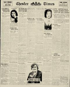 Chester Times, January 11, 1933, Page 2