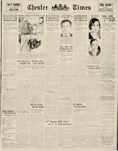 Chester Times, January 23, 1933, Page 2