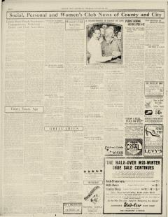 Chester Times, January 26, 1933, p. 8