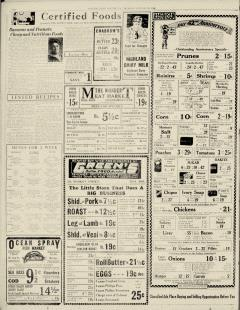 Chester Times, January 26, 1933, p. 10