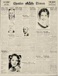 Chester Times, January 27, 1933, Page 2