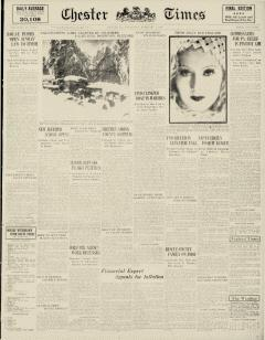 Chester Times, February 01, 1933, Page 2