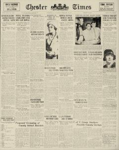 Chester Times, February 18, 1933, Page 2