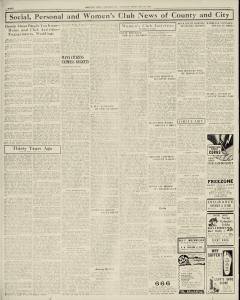 Chester Times, February 21, 1933, p. 8