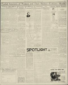 Chester Times, February 21, 1933, p. 9