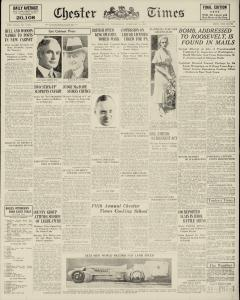 Chester Times, February 22, 1933, Page 2