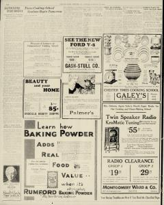 Chester Times, February 27, 1933, p. 10
