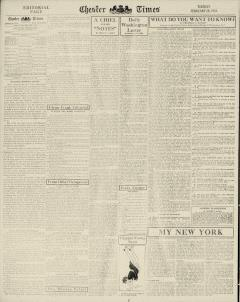 Chester Times, February 28, 1933, Page 6