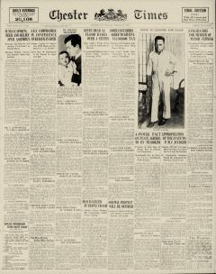 Chester Times newspaper archives