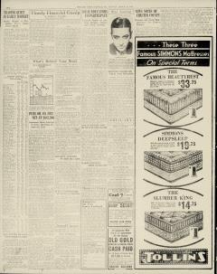 Chester Times, March 20, 1933, p. 2