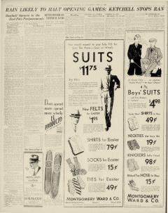 Chester Times, April 12, 1933, p. 12