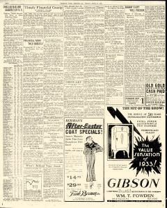 Chester Times, April 21, 1933, p. 3