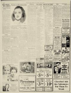 Chester Times, April 25, 1933, p. 4