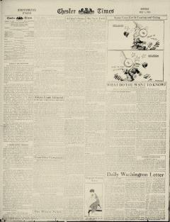 Chester Times, May 01, 1933, Page 12