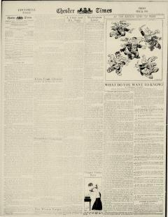 Chester Times, May 26, 1933, Page 12