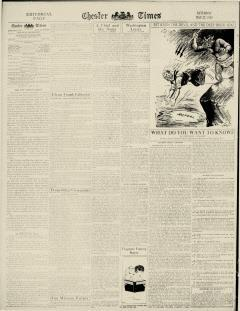 Chester Times, May 27, 1933, p. 6