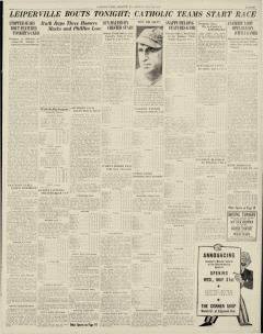 Chester Times, May 29, 1933, p. 11