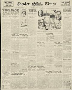 Chester Times, June 12, 1933, Page 1