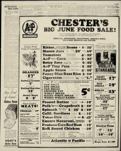 Chester Times, June 15, 1933, p. 11
