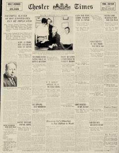 Chester Times, June 27, 1933, Page 1