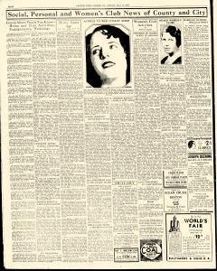 Chester Times, July 17, 1933, p. 8