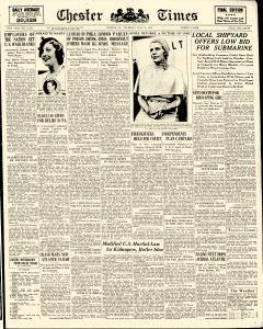 Chester Times, July 27, 1933, Page 1
