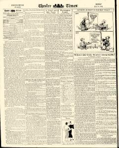 Chester Times, July 31, 1933, Page 8