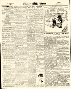 Chester Times, August 03, 1933, p. 6