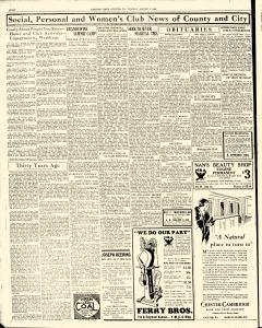 Chester Times, August 07, 1933, Page 8