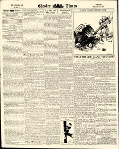 Chester Times, August 15, 1933, Page 6