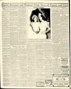 Chester Times, August 22, 1933, p. 8