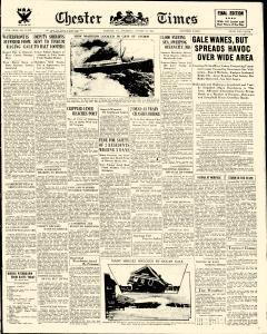 Chester Times, August 24, 1933, Page 1
