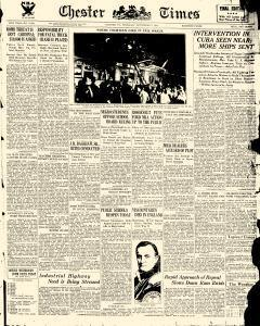 Chester Times, September 07, 1933, Page 1