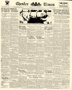 Chester Times, September 08, 1933, Page 1