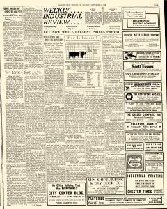 Chester Times, September 16, 1933, Page 5